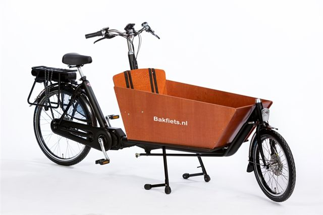 Bakfiets.nl Electric Cargo Long Classic - Shimao STEPS Nuvinci 380 CVT & Disc Brake