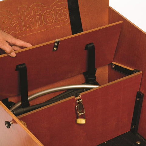Locking Trunk for Cargo Bike Long