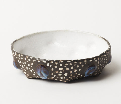 Milky Bowl - Guinea Feather