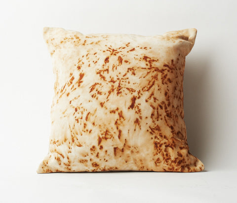 Rust Dyed Pillow