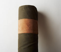 Waxed Canvas Bolster Set