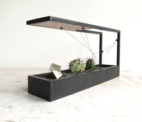 Canteliever Plant-In MINI - Black Patina Finish