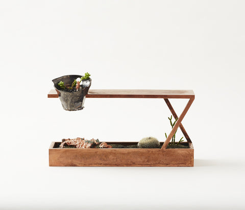 MINI II - Copper-Plated Steel Terrarium