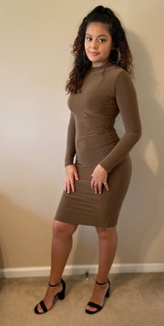 Snatched Long Sleeve Dress