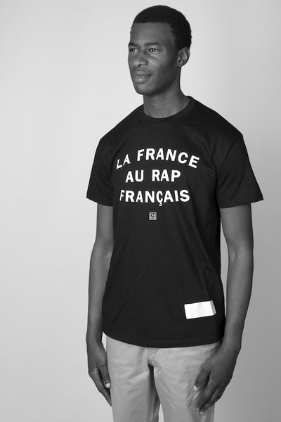 La France au Rap Français, black t-shirt