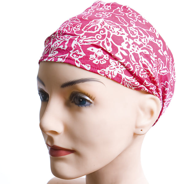 Silk Balinese Printed Head-Scarves