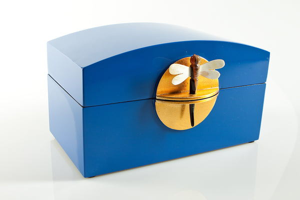Lacquered jewelry boxes