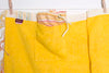 Yellow Striped Beach Towel - 2 piece set