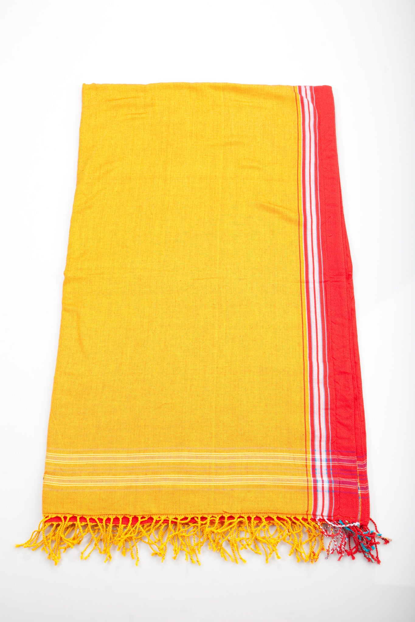 Orange/Red Beach Towel - 2 piece set