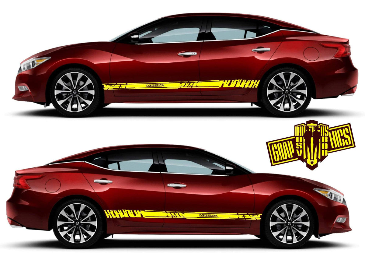 Custom Nissan Maxima >> Custom Decal Vinyl Graphics Special Made For Nissan Maxima