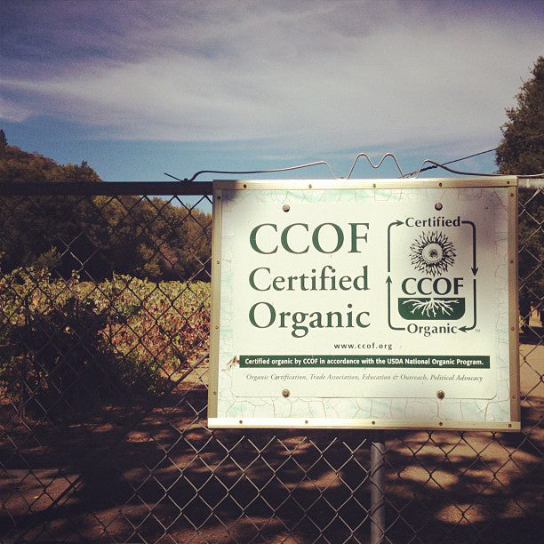 """CCOF Certified Organic"" Signs"