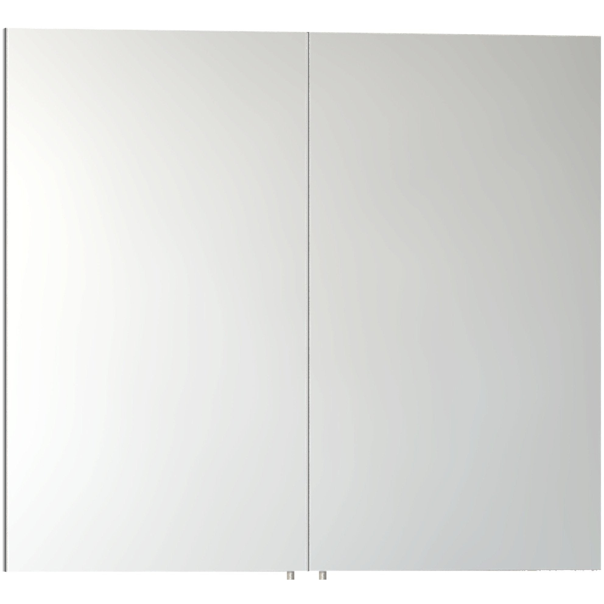 Vitra S20 Two Door Mirrored Cabinet – Bathroom Centre