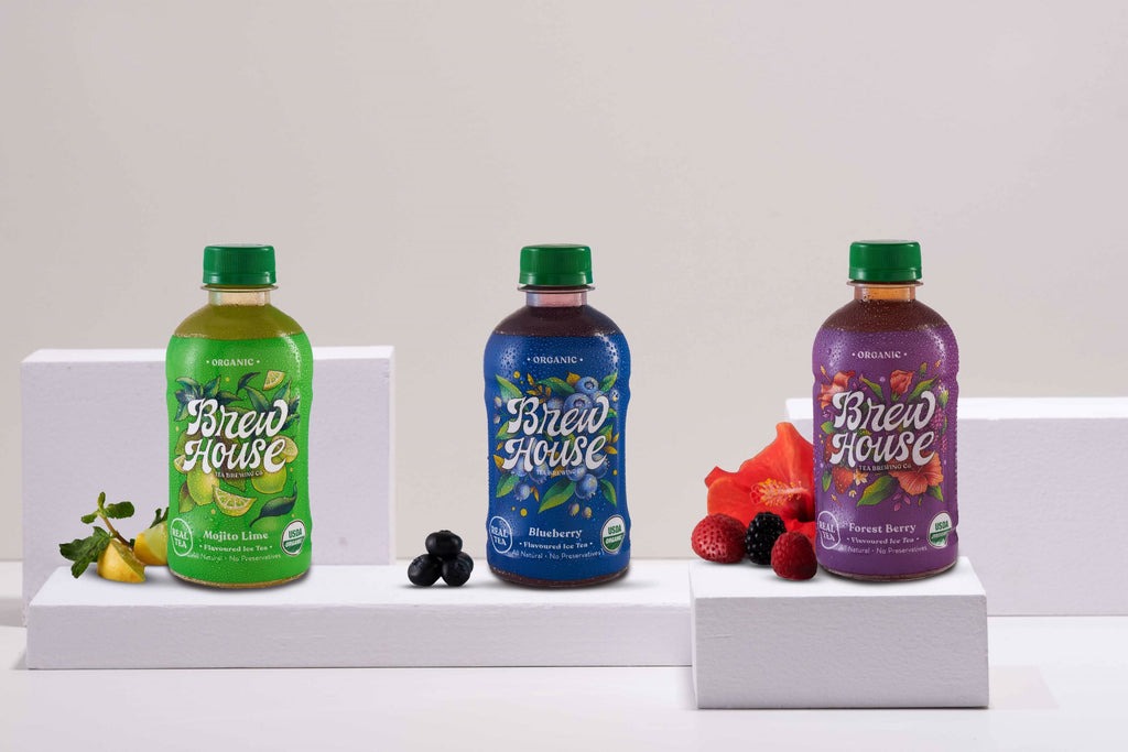 Assorted Pack - Mojito Lime, Blueberry, Forest berry-Pack of 12/24 (300ML Bottle)