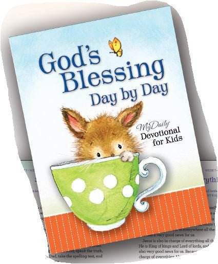 God's Blessing Day by Day Devotional