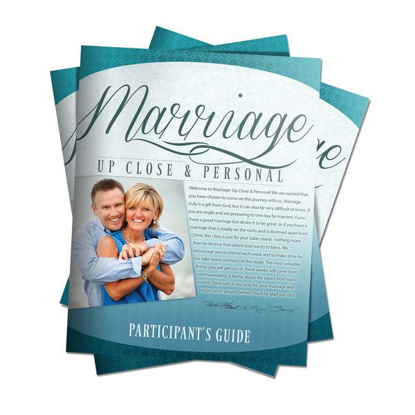 Marriage Up Close and Personal Participant Guide