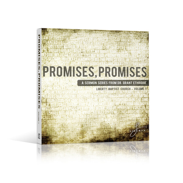 Promises, Promises Vol. 1 CD Sermon Series