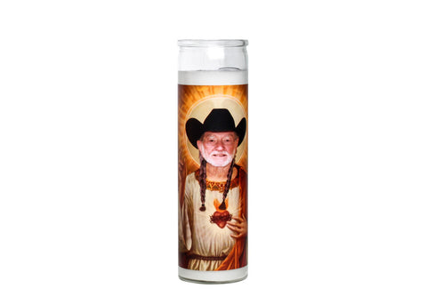 Willie Nelson Candle