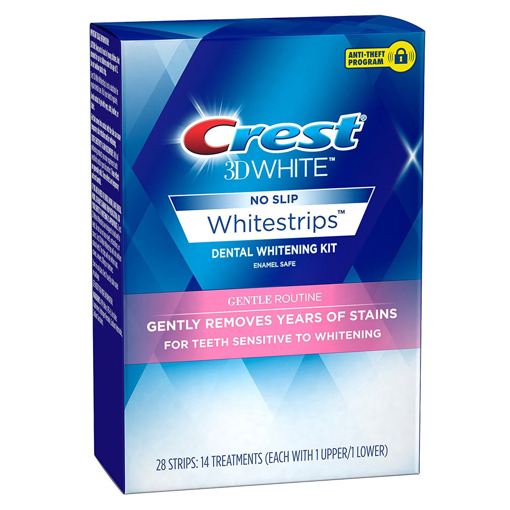 Crest 3D Whitestrips Gentle Routine Teeth Whitening 28 Strips - Crest Whitestrips United Kingdom