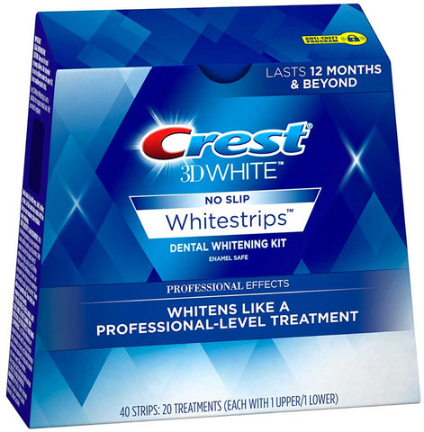 Crest 3D Whitestrips Professional Effects Tannbleking