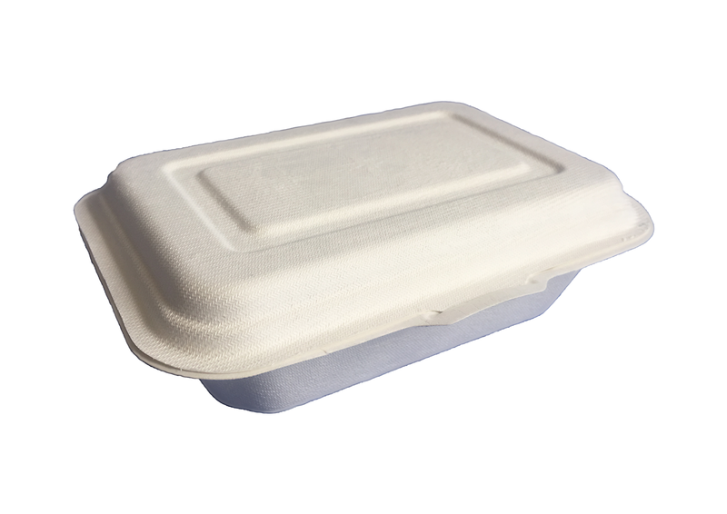 600ml Sugarcane Takeaway box (100)