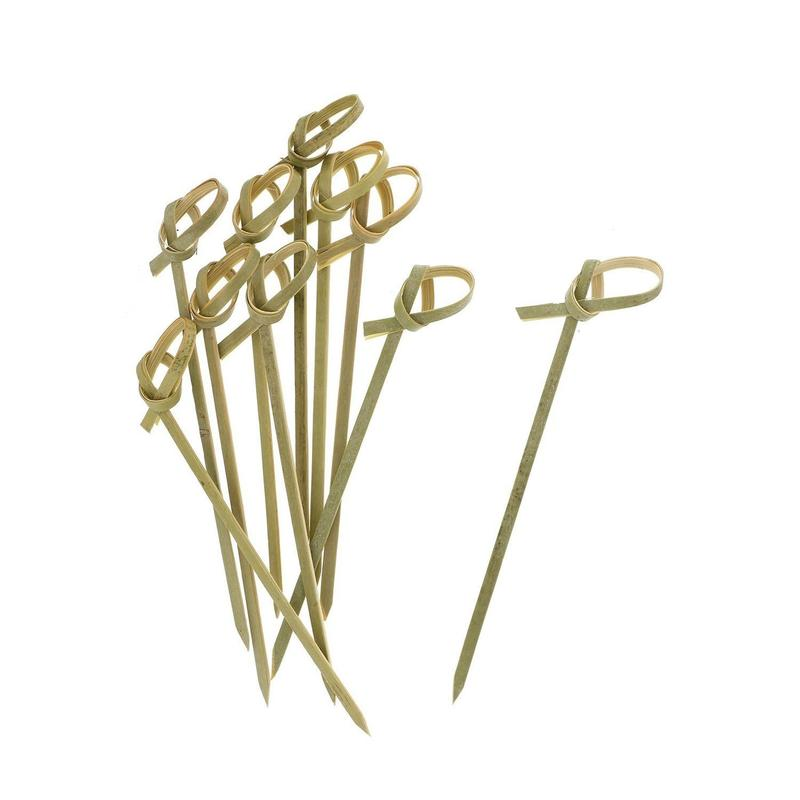 Bamboo Ribbon Skewers (100)