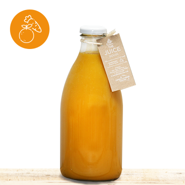 Orange & Carrot Juice 100% Blend