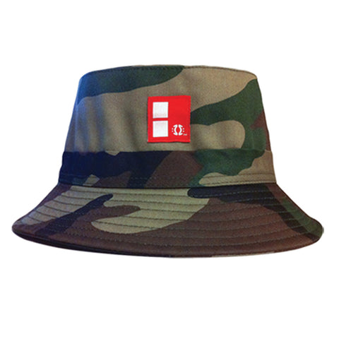 Camo Boundary Bucket Hat