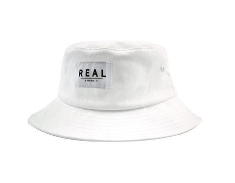 Bold Label Bucket in White