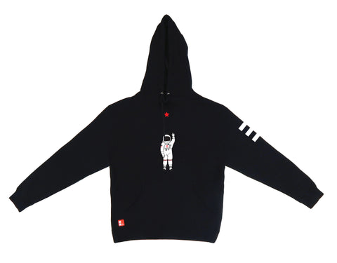 Icon Hooded Sweatshirt in Black
