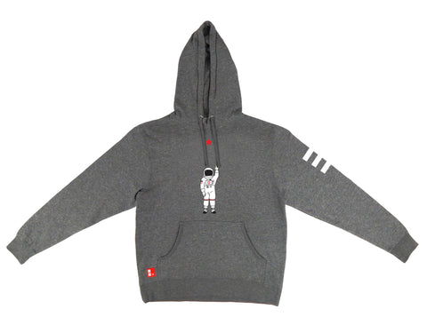 Icon Hooded Sweatshirt in Gunmetal