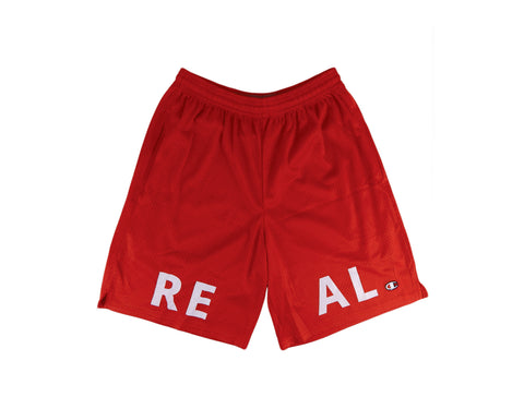 Real Champion® Shorts in Red