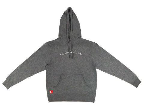 Root Of All Real Hooded Sweatshirt in Gunmetal