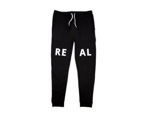 Real Sweatpants in Black