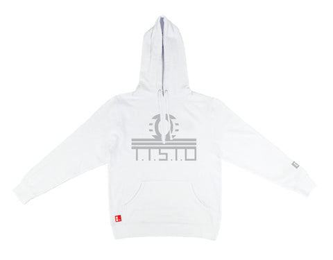 To The Stars Through Difficulties Hooded Sweatshirt in White