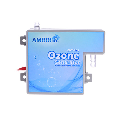 AMBOHR CDM-200 AC 220V 110V 24V 12V 200mg ozone generator manufacturing parts for for air and water purifying wash machine