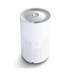 Desktop Air Purifier for Home, Bedroom, and Office - Whisper Quiet, True HEPA + Carbon Filter, Portable - Removes Dust, Smoke, Odors, and More - HEPA 130