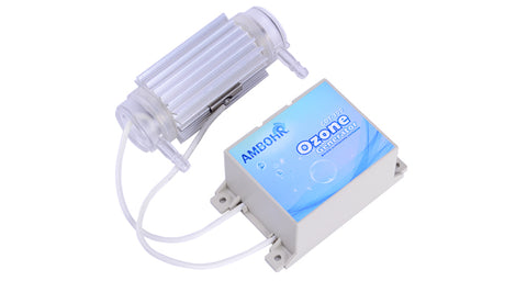 AMBOHR CDT-300 12V 24V AC simple to install ozone generator parts/200mg Ceramic Tube Ozone Generator air cooling