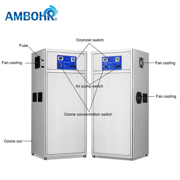AMBOHR AOG-A100 ozone generator swimming pool for water treatment