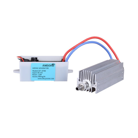AMBOHR CDT-D700 700mg/h 12V DC ozone generator machine spare parts/ceramic tube ozone generator cell 700mg/h