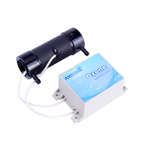 AMBOHR CDT-700 12V-240V AC ceramic tube ozone generator cell/300mg Ceramic Tube Ozone Generator air cooling