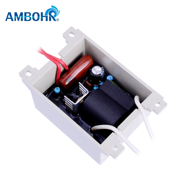AMBOHR CDT-800 12V 24V AC air cooled quartz tube ozone generator spare parts/Corona Discharge Integrated Ozone Generator Module