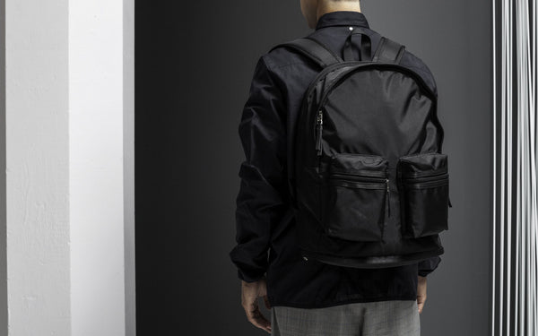 Spartan backpack black