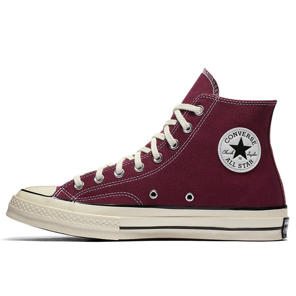 Burgundy Canvas Hi Chuck 70