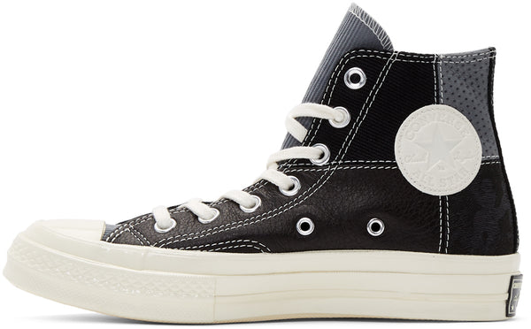 Black Patchwork Chuck 70 High