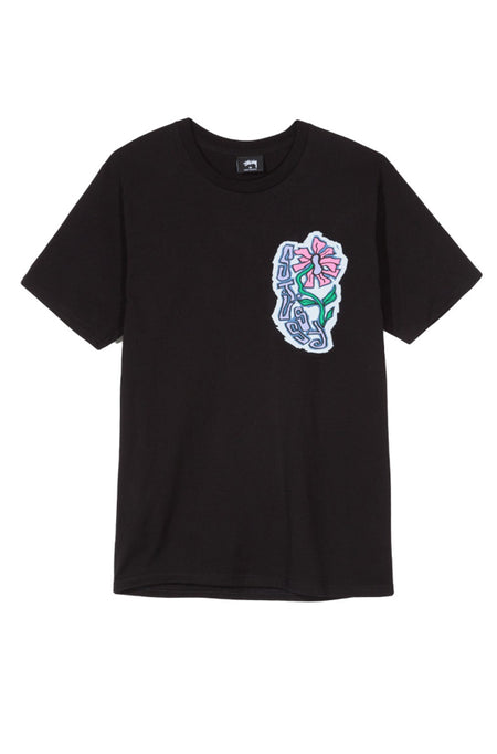 Fire Mask LS Tee Black