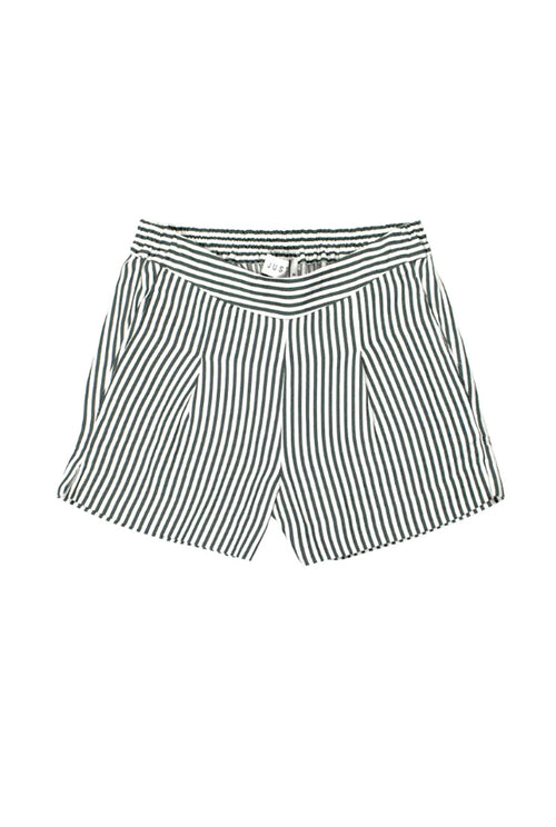 Beach Shorts White Stripe