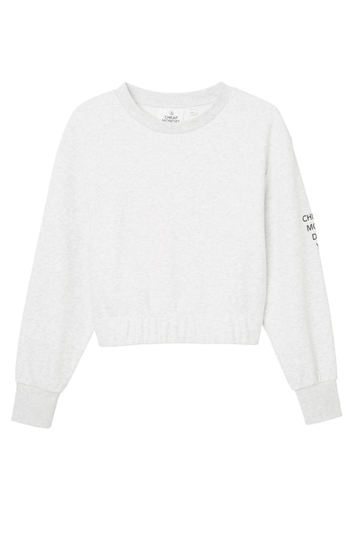 Fasten Sweat White Mel