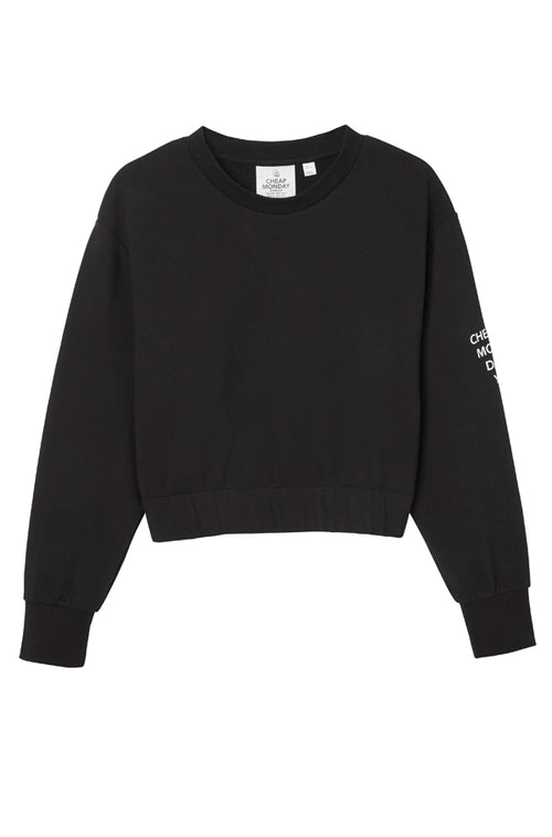 Fasten Sweat Black