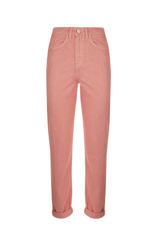 ELSA LADIES MOM JEAN PINK