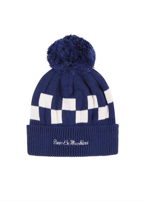 Moto Beanie Estate Blue